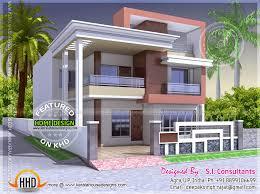House Flat Design Flat Roof Indian House Exterior Pinterest Indian House Flat
