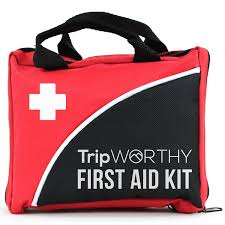 amazon com compact first aid kit for medical emergency for home