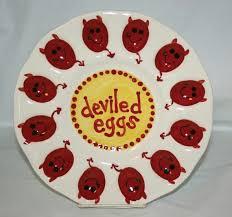 ceramic deviled egg platter painting pottery pottery painting pottery