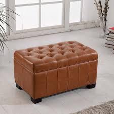 furniture ottoman storage bench for interior ideas