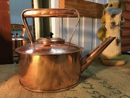 kitchen collectables store beautiful antique vintage copper pot belly stove top country
