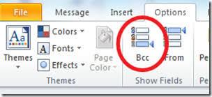 How Does Blind Carbon Copy Work Outlook 2010 Enable Blind Carbon Copy Bcc Option