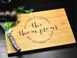 engraved wedding gift best 25 personalized cutting board ideas on creative