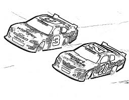 precede each race car coloring pages for kids brh printable