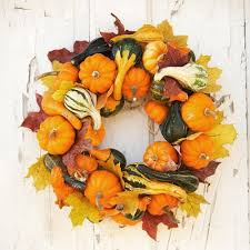 15 ideas to make cool thanksgiving wreaths shelterness
