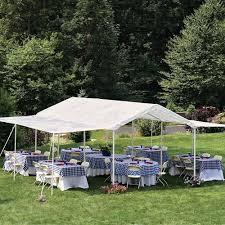 Canopy Tent Wedding by Outdoor Canopy Gazebo Tent Party Wedding 10 U0027x20 U0027 White Extender 24