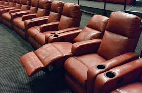 Reclining Chair Theaters Theatre Recliner Seats Minimalist Architectural Home Design