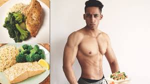diet to get lean shredded muscle full day of eating youtube