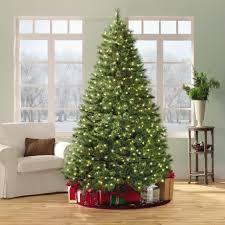 tree sears pre lit trees clear light pre lit