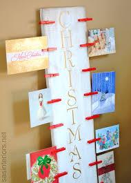 create a christmas card diy easy to create christmas card holder with 6 of wood