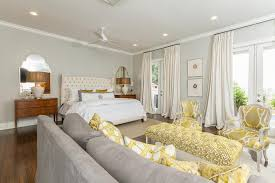 Gray And Yellow Accent Chair Gray Sofa With Yellow Chairs Transitional Bedroom