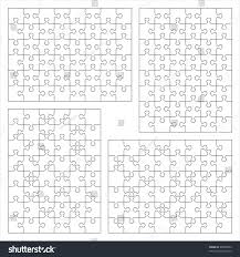 blank puzzle templates