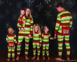new lovely family matching pajamas xmax sleeve