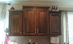 simple glazing kitchen cabinets come with cream color wooden