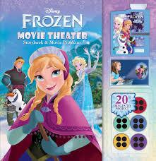 disney frozen movie theater storybook u0026 movie projector book