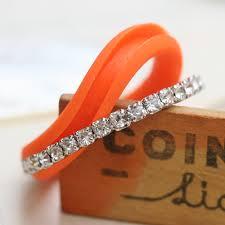 Silicone Wedding Ring by Bague Silicone Alliance Orange