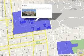 Berkeley Zip Code Map by The Locative Web Erik Wilde Uc Berkeley Of Information 1