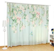 shabby chic doors blue flower shabby chic curtains for sliding doors