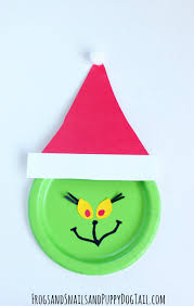 grinch paper plate craft fspdt