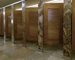 louvered bathroom decoration brilliant bathroom stall wall