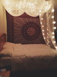 30 christmas bedroom decorations ideas canopy tapestry and cozy