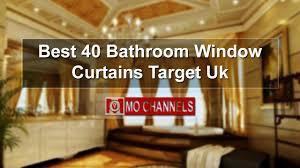 best 40 bathroom window curtains target uk youtube