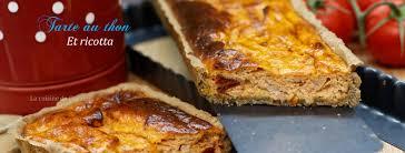 la cuisine de corinne tarte au thon et ricotta la cuisine de corinne