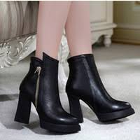 womens ankle boots canada chunky heel womens boots canada best selling chunky heel womens