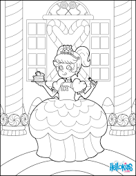 candy princess coloring pages hellokids com