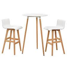 table haute de cuisine avec tabouret en casa comptoir de bar blanc avec tabouret de bar hêtre table de