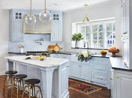 light blue cabinets kitchen bold new colors for kitchen cabinets bradford and kent