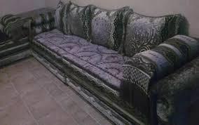 couvre canapé marocain tapisserie tapissier salon marocain contemporain sdl marrakech maroc