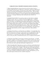 essay format high school what is narrative essay writing how to write a thesis for a