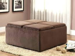 Coffee Table Ottoman Combo Blue Leather Ottoman Navy Ottoman Coffee Table Large Size Of