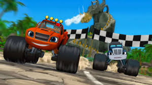 monster truck racing uk nick jr u0027s u201cblaze and the monster machines u201d gives stem a turbo