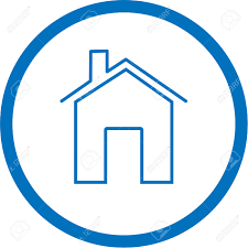 home logo icon icon vector white