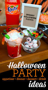 halloween party ideas appetizers dinner and desserts printable
