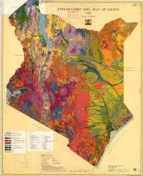 geographical map of kenya your new desktop wallpaper a gorgeous exploratory soil map of