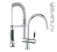 kraus commercial pre rinse chrome kitchen faucet pre rinse kitchen faucet parts kraus commercial spray pull