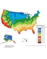 Color Map Of The United States by Planning Your Vegetable Garden Martha Stewart