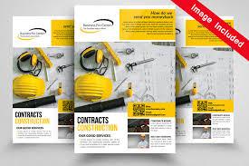engineering flyer templates by designhub thehungryjpeg com