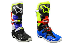 alpinestars motocross gloves special edition trey canard u0026 anaheim motocross boots by