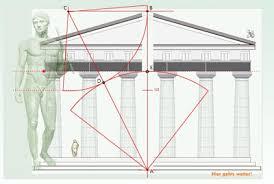 der goldene schnitt architektur architektur und plastik proportionierung sectio aurea der