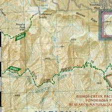 Yosemite Valley Map 206 Yosemite National Park National Geographic Avenza Maps