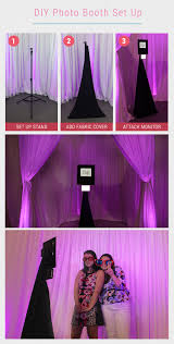 do it yourself photo booth diy photo booth setup in 3 easy steps bridalpulse