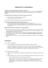 Terminate A Contract Letter Resignation Letter Format Wrongful Breach Of Contract