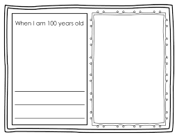 student writing paper when i am 100 years old worksheet 100th day of school writing 100th day of school writing activity when i am 100 years old students
