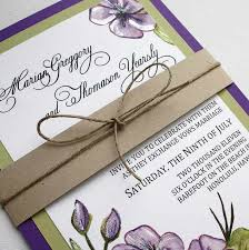 summer wedding invitations purple and green unique summer wedding invitations ipunya