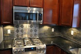 kitchen backsplashes with granite countertops mica slate tile backsplash with uba tuba granite countertops and