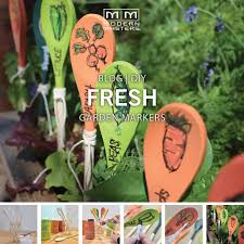 Vegetable Garden Blogs by Vegetable Garden Markers Modern Masters Cafe Blog
